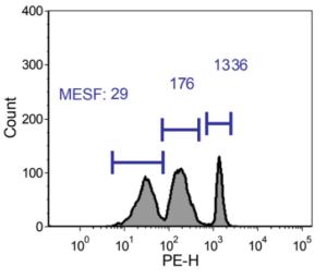 3 Peak Antibody Capture nanobeads